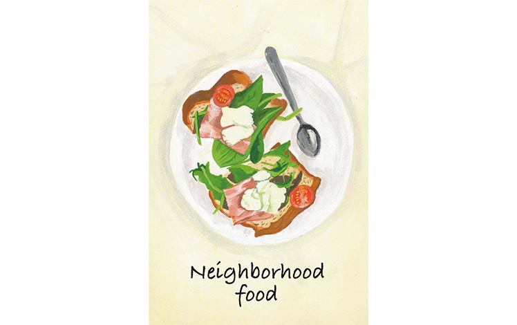 スプーンギャラリー個展2017「Neighborhood food」